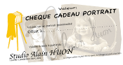 Cheque Cadeau photo alain huon